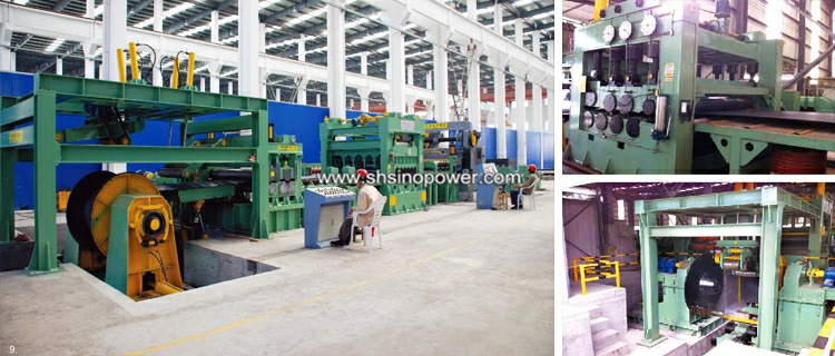 Heavy plate roll to steel sheet cutting machine price