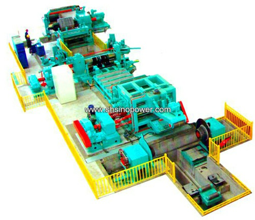 whole metal coil slitting machine line